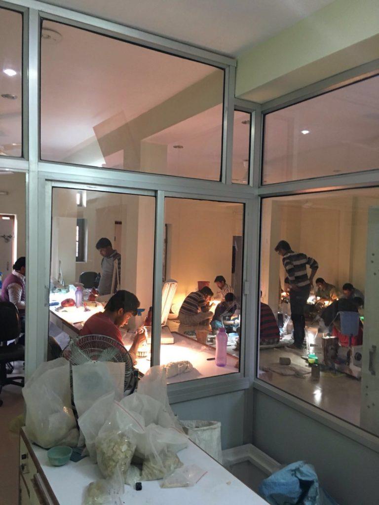 NavneetGems gemstone factory India