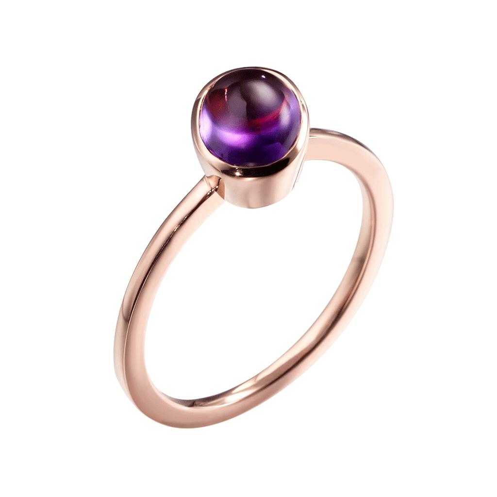 Sliver jewelry gemstone amethyst