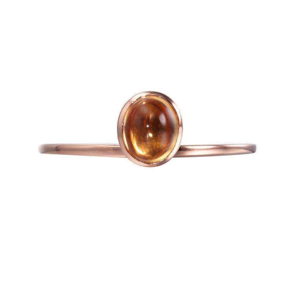 Sliver jewelry gemstone citrine