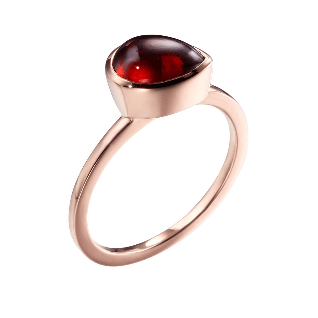 Sliver jewelry gemstone garnet
