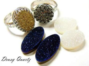 drusy quartz