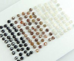 Black Brown and White Diamonds