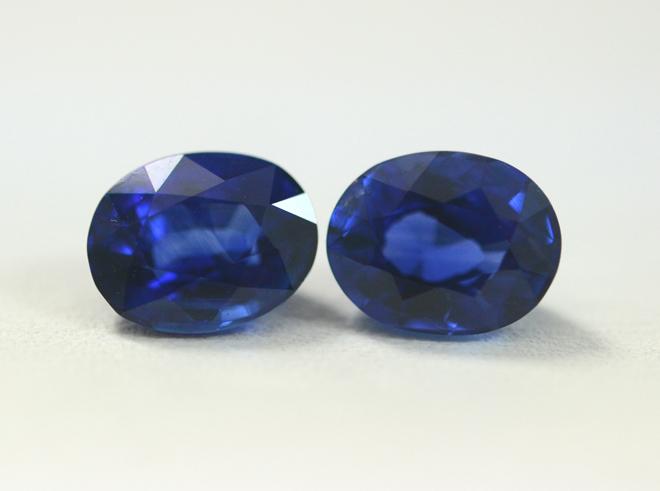 Blue Sapphire Ovals