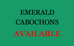 Emerald Cabochons wholesale