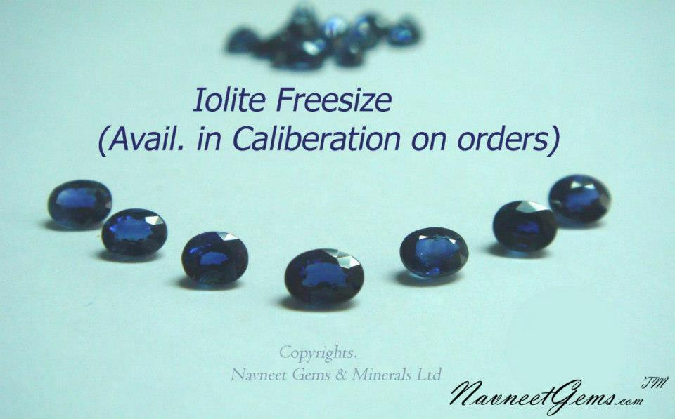 Iolite Oval Faceted