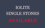 Iolite Single stones