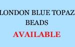 London Topaz Beads