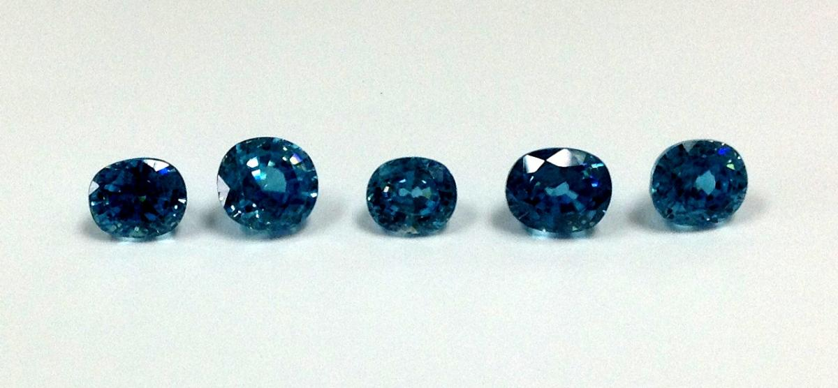 Natural Blue Zircon