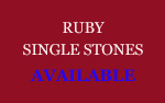 Ruby Single Stones