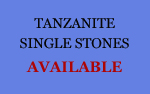 Tanzanite single stone