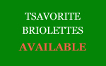Tsavorite Briolettes