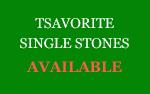 Tsavorite Single Stones