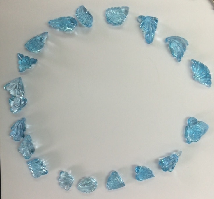 sky blue topaz fancy