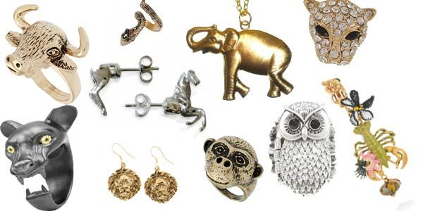 Plain Silver Animal Jewellery