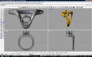 CAD Silver jewelry
