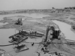 Kanchanaburi sapphire mines