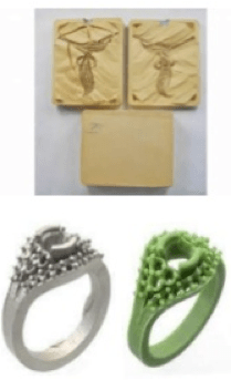 Moulding Silver Jewelry