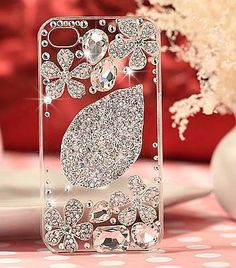 Mobile cover with wholesale gemstone