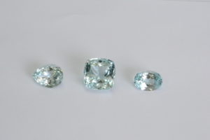 Lot of Natural blue topaz rare