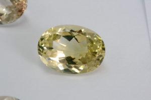 Yellow topaz rare gemstone