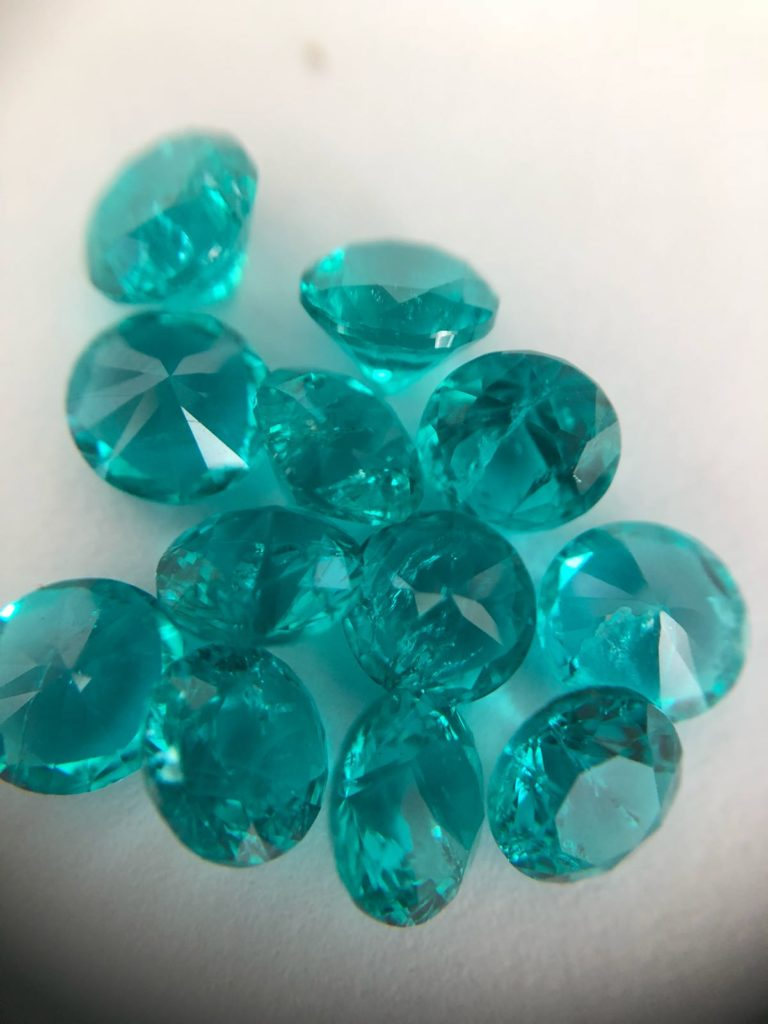 Lab Created Paraiba Tourmaline