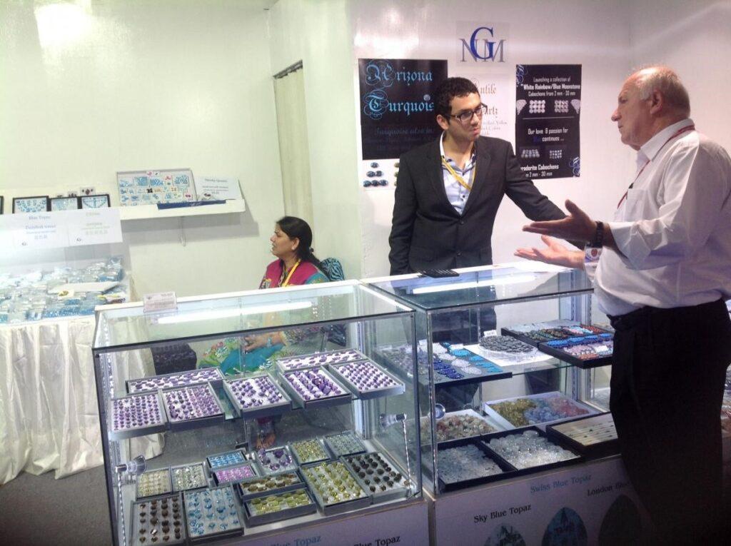 gem and jewelry show bkk Navneet Gems