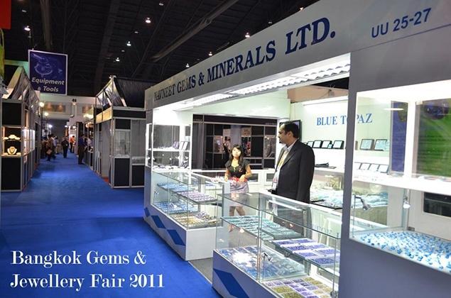 Bangkok Gems Show Naveneet Gems and Minerals