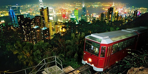 Hong Kong Peak TRain