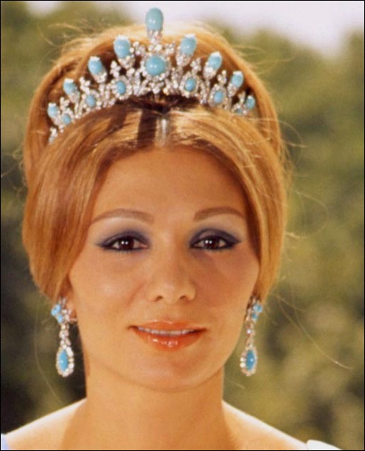Sleeping Beauty Turquoise Jewelry worn by Empress Farah