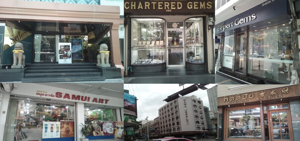 gemshop silom collage