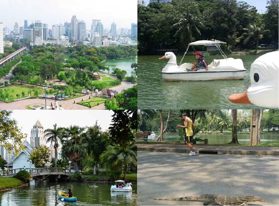 lumpini-park collage