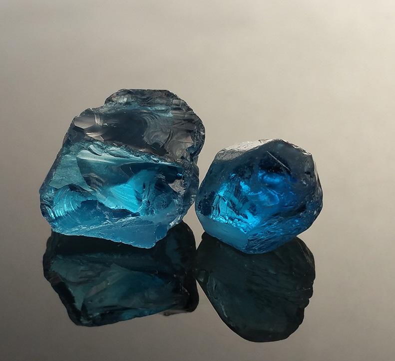 London Blue Topaz Rough