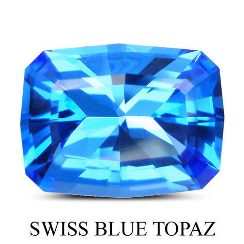 Swiss Blue Topaz Fancy Stones