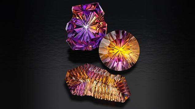 Gemstone Cutting Factory in Bangkok