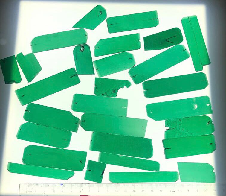 Lab Created Colombian Emeralds