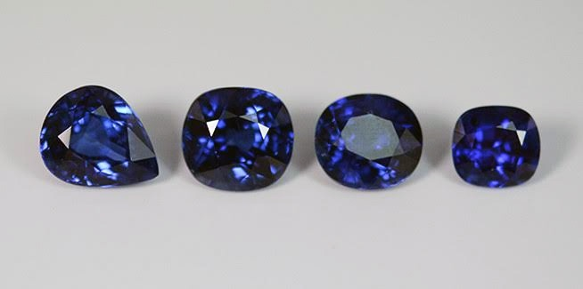African Blue Sapphires