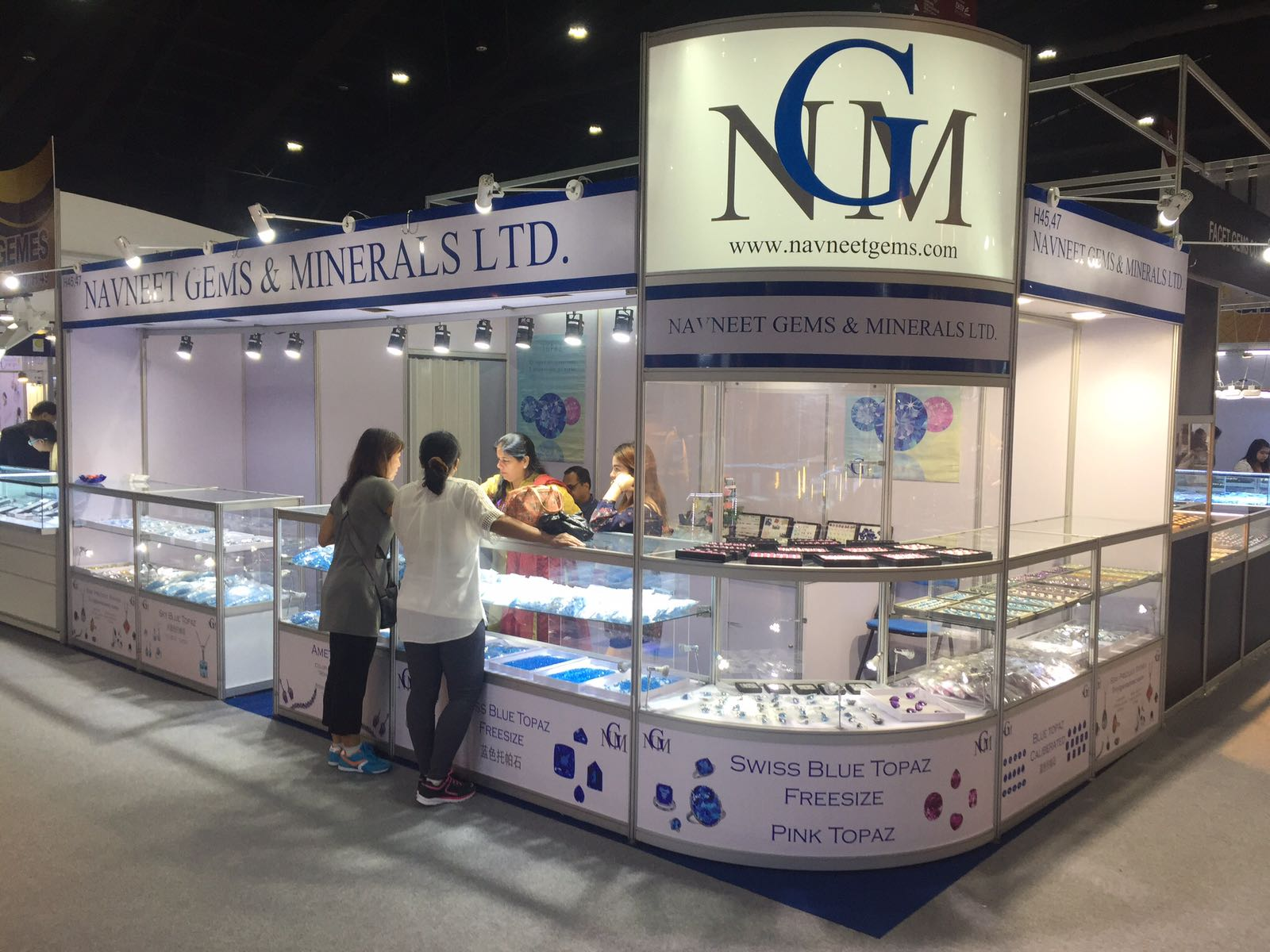 Bangkok Gem and Jewelry show