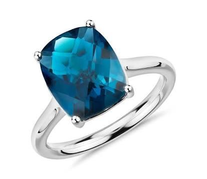 Sliver jewelry gemstone london topaz
