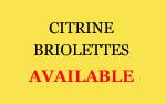 Citrine Briolettles