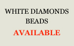 White Diamonds Beads