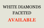 White Diamonds Faceted