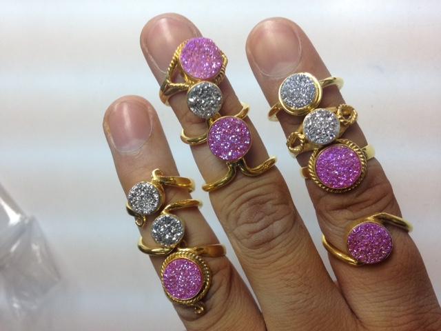 Rings of Drusy