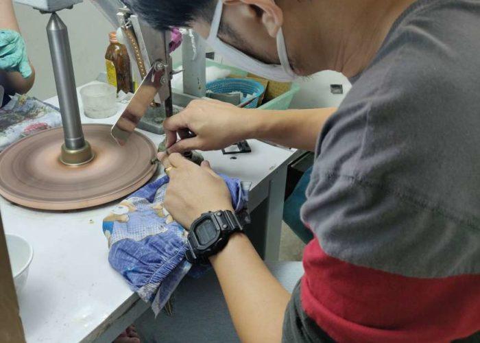 Bangkok factory work