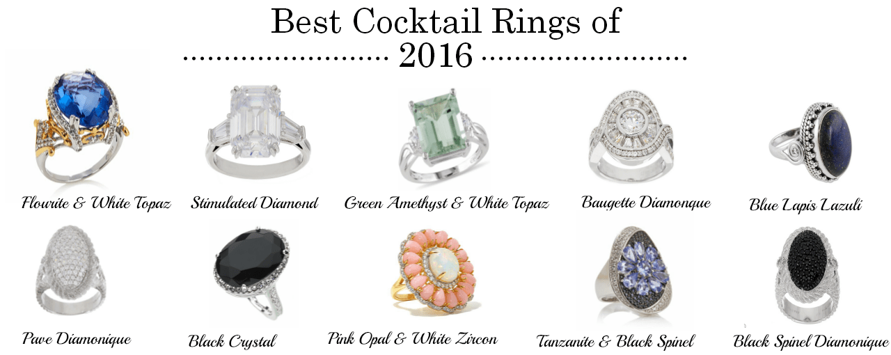 Best Cocktail Rings of 2016