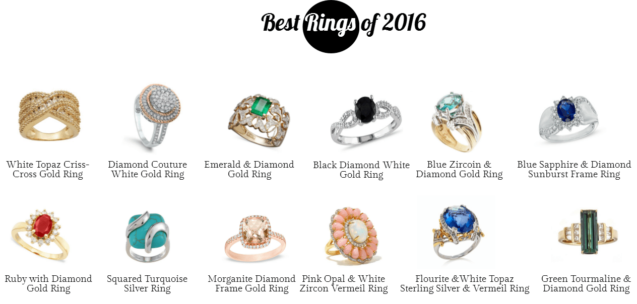 Best Rings of 2016