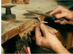 Filing Silver Jewelry
