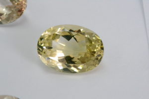 Yellow topaz rare gemstone
