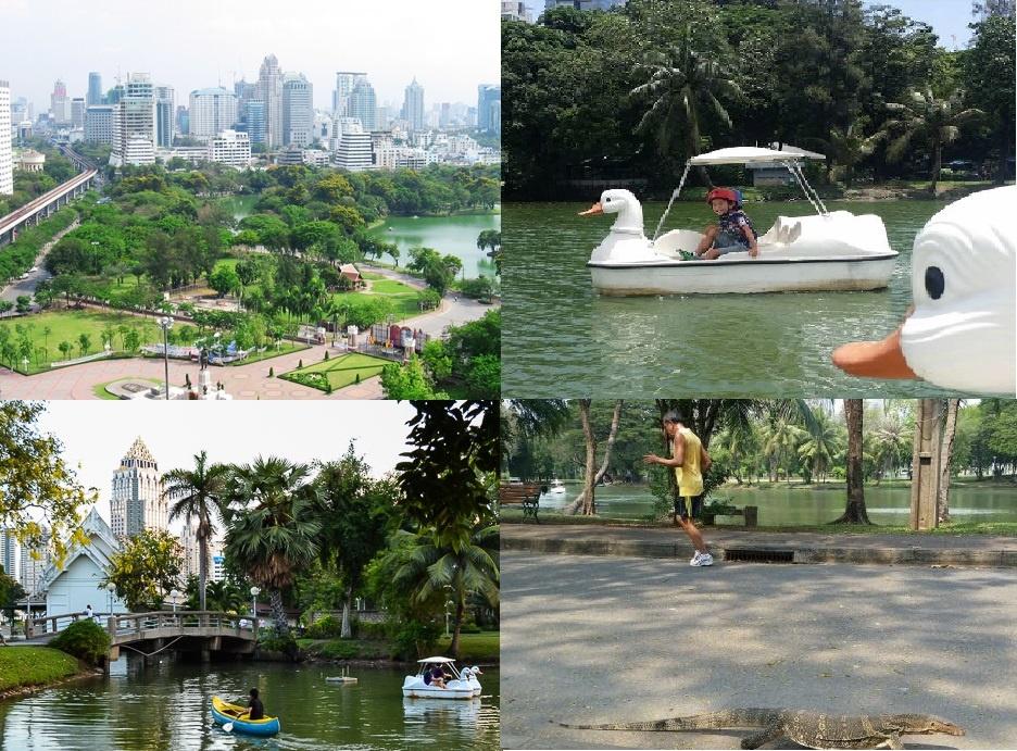 lumpini-park collage