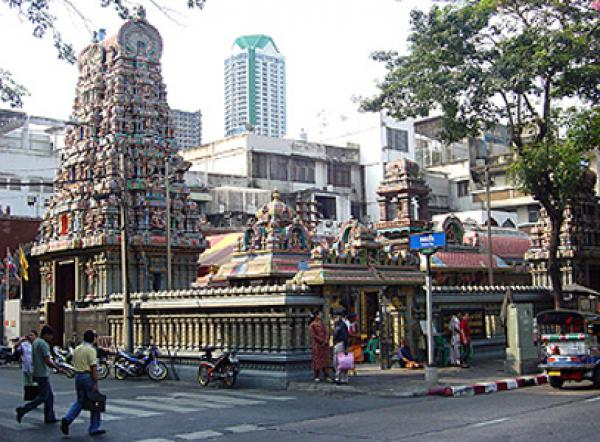 sri maha mariamman temple in Silom