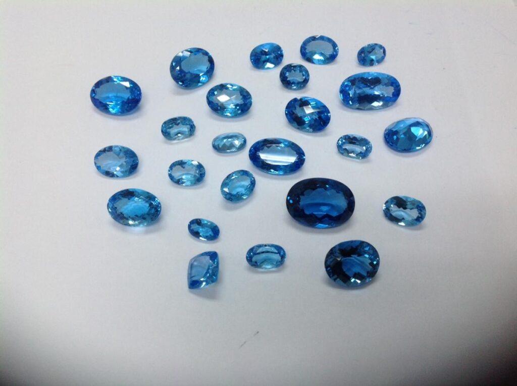 Swiss Blue Topaz Free Size